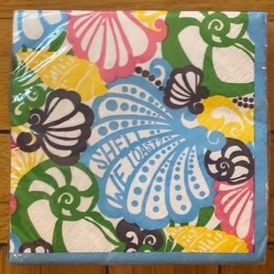 NWT Lilly Pulitzer Cocktail Napkins